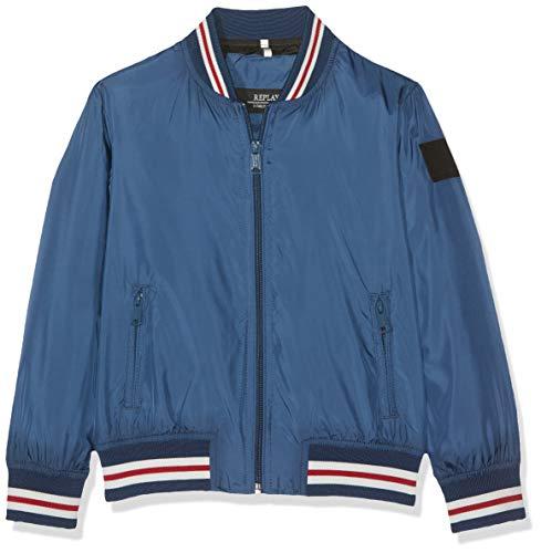 Replay Jungen SB8160.050.82692 Jacke, Blau (Cobalt Blue 272), 128 (Herstellergröße: 8A)