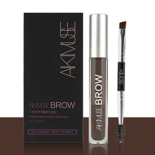 ROMANTIC BEAR Wasserfest Augenbrauen Farben Gel Mit Pinsel Set,Anti-discoloration Eyebrow...