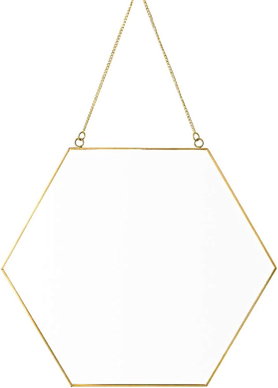 Nclon Modern, Wall-mounting Type Hanging Wall Mirror 10  Beveled gold Bathroom Mirror Vanity Bedroom Bathroom for Life-c