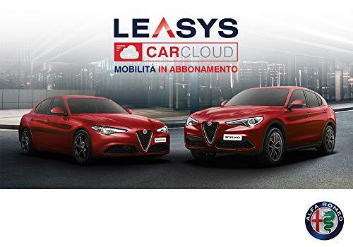 """Iscrizione Abbonamento """"Leasys CarCloud New Stelvio & Giulia"""""""