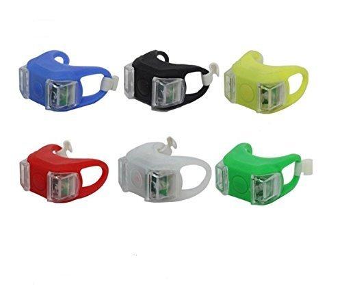 Generic Lot de 3 lampes torches magnétiques rondes 24 LED avec crochet intégré et aimant, Noir 1