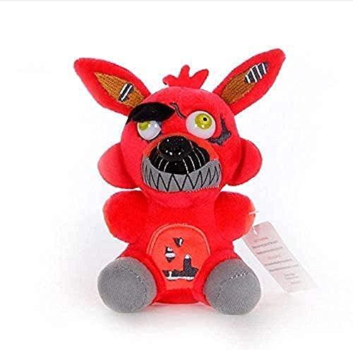 Suave cinco noches en Freddy 4 FNAF colgante 18 cm lindo juguete de felpa decoración de la habitación regalo de cumpleaños muñeca de peluche regalo creativo