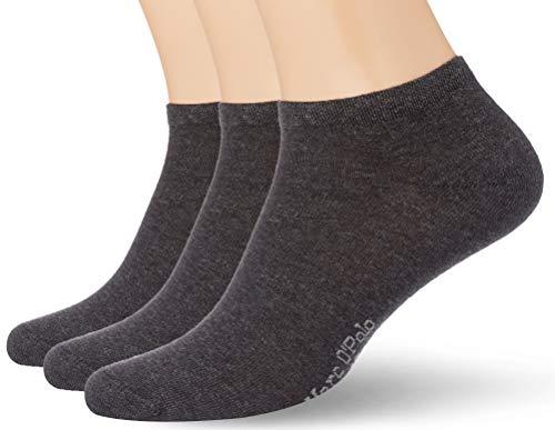 Marc O'Polo Body und Beach Herren Multipack M-SNEAKER 3-PACK Socken, Grau, OneSize_2