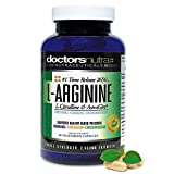 L-Arginine L-Citrulline Extra Strength Over 2,650 Milligrams by Doctors Nutra Nutraceuticals - Nitric Oxide Booster - Plus Patented Astragin for Greater Absorption with Added DIM - 80 Count Bottle