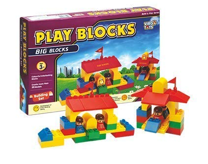 Party Hub Play Blocks Building Set