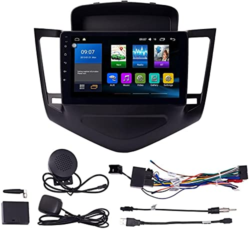 ZBHWYD Adatto per Chevrolet Cruze 2009-2013 Android 9.1 Autoradio Car Navigation Stereo Multimedia Player GPS Radio 2.5D IPS Touch Screen 1 + 16G