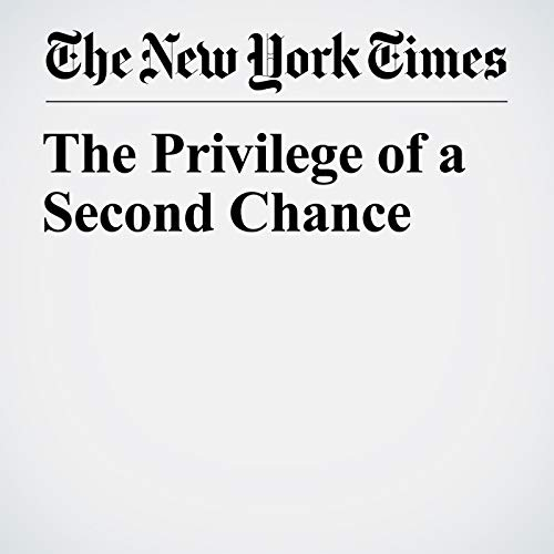 The Privilege of a Second Chance copertina
