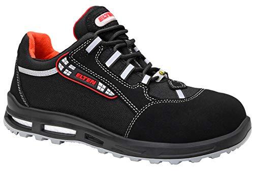 ELTEN Sicherheitsschuhe SENEX XXT ESD S3, Damen und Herren, Sneaker, sportlich, leicht, Schwarz, Kunststoffkappe - Größe 42