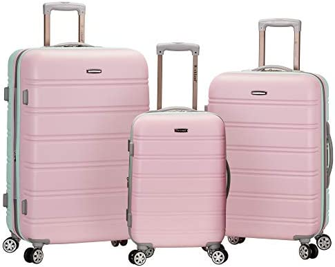 Rockland Melbourne Hardside Expandable Spinner Wheel Luggage Mint 3 Piece Set 20 24 28 product image