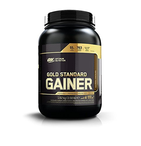 Optimum Nutrition ON Gold Standard Gainer Mass Gainer Protein Powder for Muscle Gain and Recovery Colossal Chocolate 162 kg 8 Servings