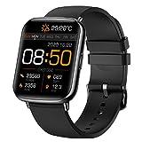 Reloj inteligente,reloj deportivo hombre y mujer,Pantalla táctil de 1,69 pulgadas, Monitoreo de frecuencia cardíaca, pulsera de actividad para iOS y Android