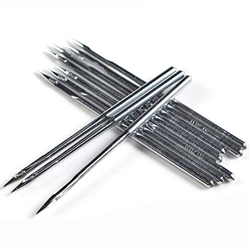 10Pcs Heavy Duty Sewing Machine Needles for Singer Brother Janome Industry Sewing Machine (90/14)
