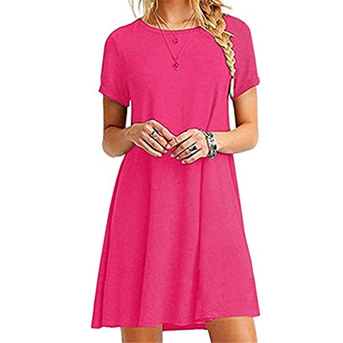 x8jdieu3 Summer Hooded Lace Stitching Niedriger V-Ausschnitt Lose Lose Schulter Lässiges Strandkleid Weiblich