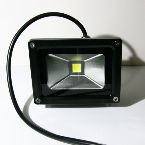 LED Außenstrahler - Flutlicht 10, 10 Watt, Schutzart: IP65, Objektbeleuchtung, Scheinwerfer 230V