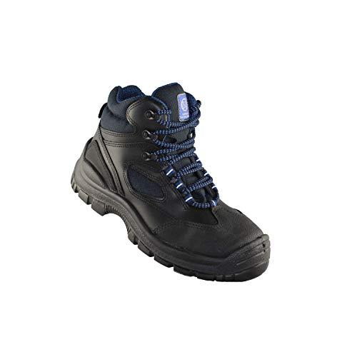 BS Safety Shoes BS-6212 S3 SRC Sicherheitsschuhe Bauschuhe Industrieschuhe Berufsschuhe Lagerschuhe Hoch Schwarz B-Ware, Größe:43 EU