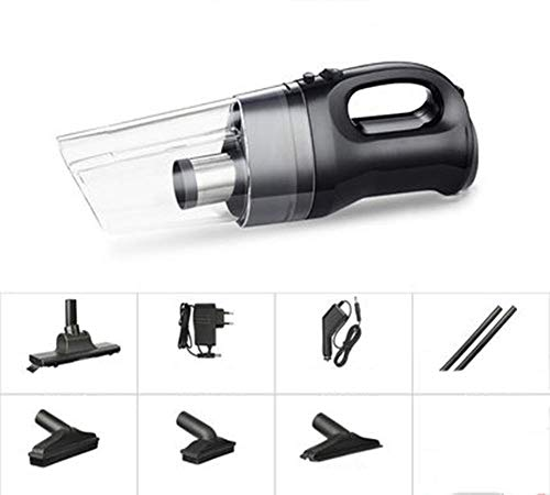 Buy SCDSRQ Portable Vacuum Cleaner for Car | High Power 106W/12V Mini Vacuum for Car with Steel Filt...