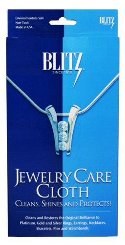 Blitz 9617 6-Pack Jewelry Care Cloth by Blitz