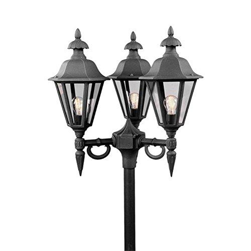 Konstsmide Pallas lampenkop zonder paal lantaarn reservelamp 528-750
