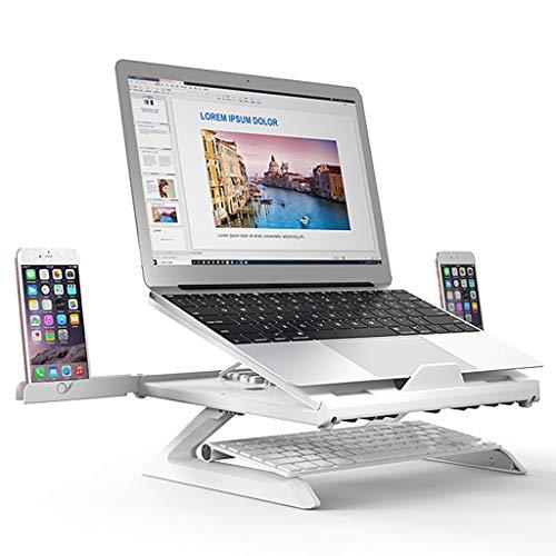 ZTSS Soporte Ajustable para Ordenador portátil, 9 ángulos, Soporte Vertical para teléfono Inteligente/Notebook, para MacBook Air Pro de hasta 17''