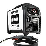 Telwin 816085 Maxima 160 Synergic Saldatrice Inverter a Filo Mig-Mag/Flux/Brazing, 230 V, Maxima 160, Bianco