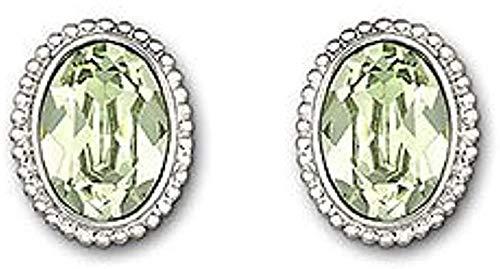 Swarovski 1084469 - Pendientes de mujer de plata de ley