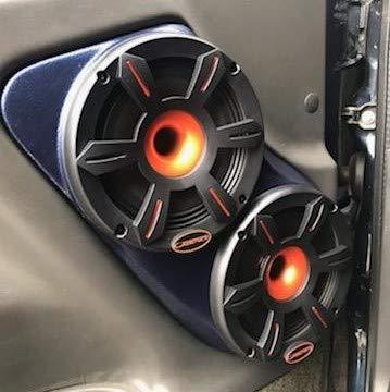 """Custom Speaker Pods Dual 6.5"""" Front Door 2000-2006 Chevrolet Tahoe, Suburban, Silverado, Sierra, Yukon Stereo System Upgrade Installation"""