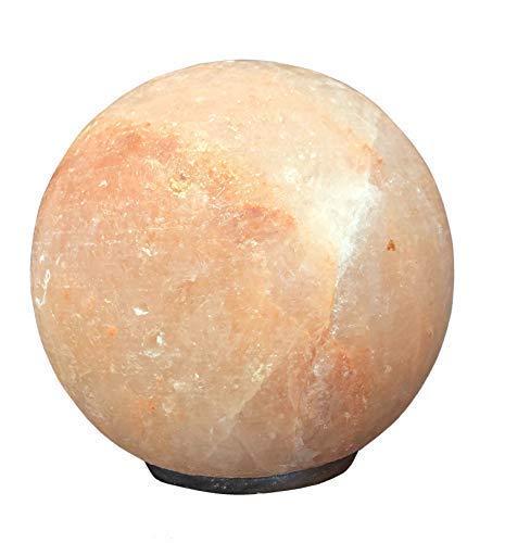 SudoreWell® Salzkristall Lampe Salzlampe Sonne/Planet Ø 15 cm aus der Salt Range Pakistan