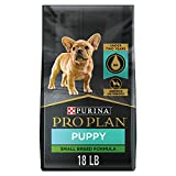 Purina Pro Plan High Protein Small Breed Puppy Food DHA Chicken & Rice Formula - 18 lb. Bag