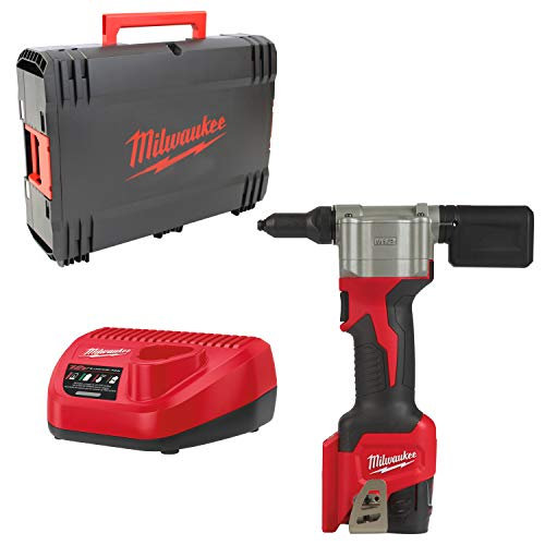 Milwaukee 4933464405 Remachadora M12 bprt-201 X, Rojo