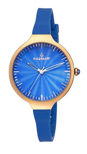 Radiant Reloj Analógico para Mujer de Cuarzo con Correa en Caucho RA336604