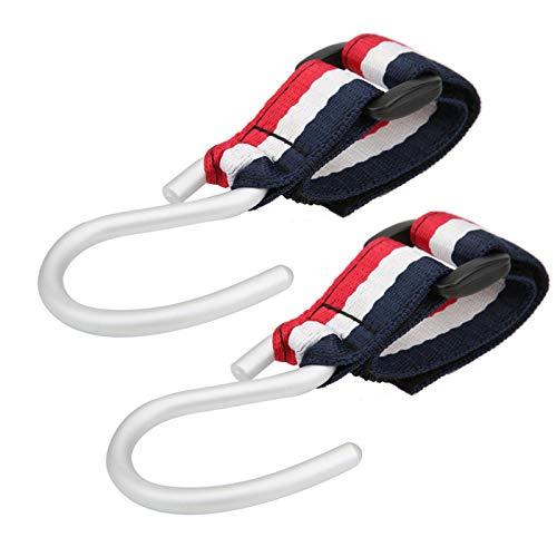 Gancho de cochecito de 30 kg aplicable Gancho y bucle de calidad multifuncional para bolsas de pañales