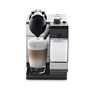 Nespresso Lattissima Plus Original Espresso Machine with Milk Frother by De'Longhi, Silver