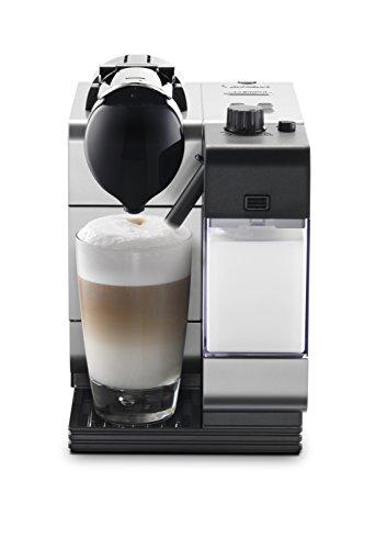 Nespresso Lattissima Plus Coffee and Espresso Machine by DeLonghi, Silver
