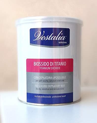 Vestalia Depilación dióxido de titanio cera depilatoria li