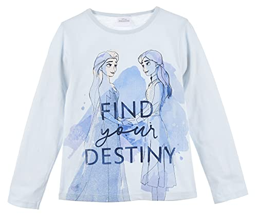 Frozen Niñas Camiseta de Manga Larga...