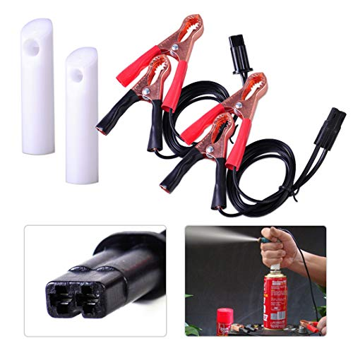 FUAN Universal Auto Car Fuel Injector Nozzle Gasoline Cleaning Tester Repair Tool Flush Cleaner Adapter DIY Cleaning Tool Kit Set
