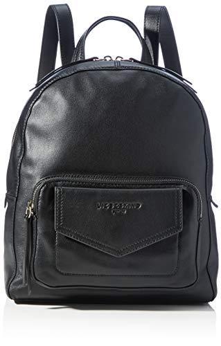Liebeskind Berlin Damen Sara Backpack Rucksackhandtasche, Black, Medium