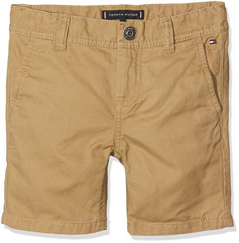 Tommy Hilfiger Baby-Jungen Essential Twill New Chino Shorts, Braun (Tiger's Eye 265), (Herstellergröße: 92)