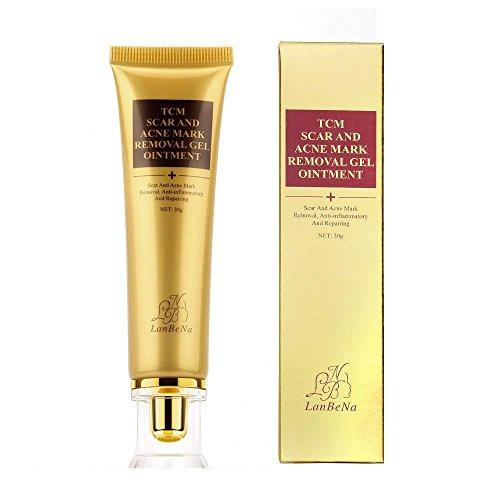 GARYOB Akne Narbe entfernen creme, Narbe-Creme Skin Repair Narbe Gel Narben Behandlung für Gesicht und Körper Narbe Akne Spots Dehnungsstreifen