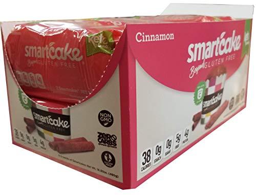 Smart Baking Company Smartcake, Vitamin C, Sugar Free, Gluten Free, Low Carb, Keto Dessert (Cinnamon, 16 CT)