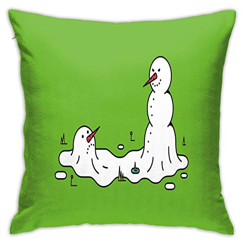 """RELAXLAMA My Best Friend is Better Than Yours Pillow Square Decorative Sofa Car Home Pillow Cover 18"""" X 18""""Inch"""