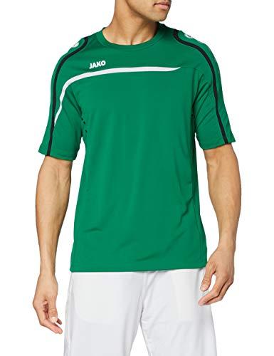 JAKO T-Shirt Performance pour Homme S Vert Sport/Blanc/Noir.