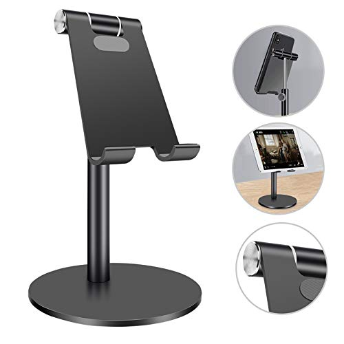 Homealexa Tablet Stand Holder Adjustable Cell Phone Holder, Universal Holder For iPad Pro 9.7/12.9 case, For iPad Air Mini Stand for desk Bed, For Nintendo Switch Stand Other Smartphone