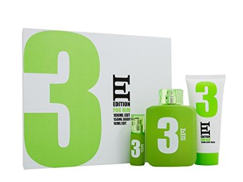 Jigsaw ESL Edition 3 Coffret cadeau avec eau de toilette 100 ml + eau de toilette 10 ml + gel douche 150 ml pour homme 100 ml