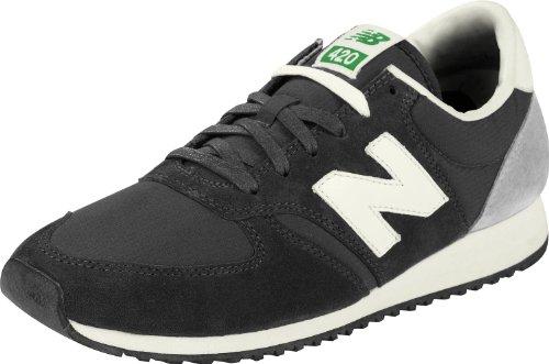 New Balance - Zapatos para Hombre, Color Black/Grey, Talla 37