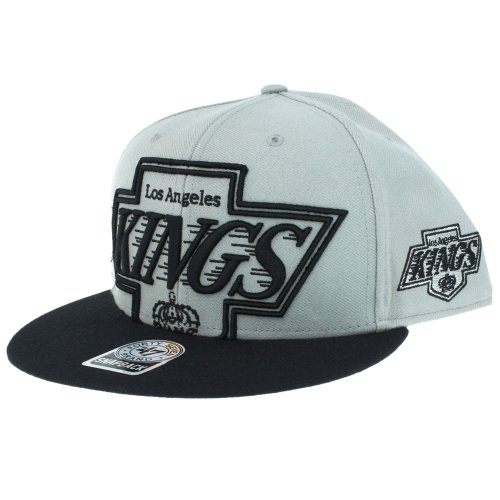 47 Brand - Casquette Snapback Homme Los Angeles Kings 2 Tone Blackout Colossal