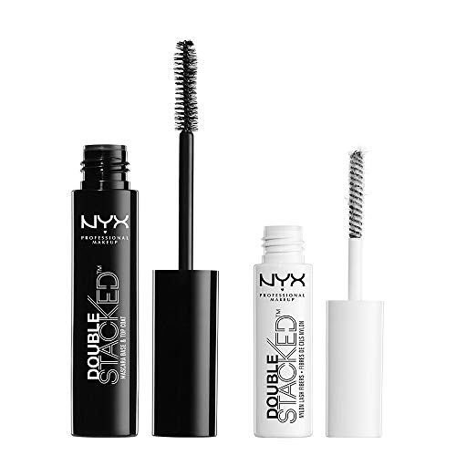 nyx Double stacked reksysteem mascara/By brillance glitter