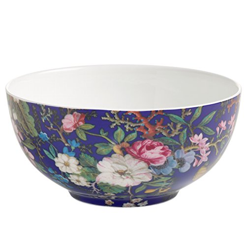Maxwell & Williams wk09700 Kilburn Coque Floral Muse, 16 cm, boîte Cadeau, Porcelaine, Bleu