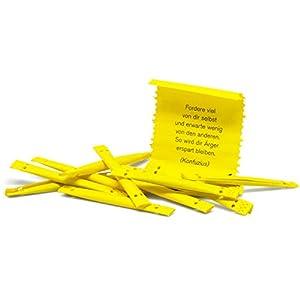 ORIGINALES FUNDOLEO-SET >>> 100 gelbe Coachinglose zum Aufreißen für die tägliche Motivation: So lernen Sie kreativ und motiviert! BELIEBTE TRAININGSTHEMEN >>> In jedem Los befindet sich eine neue Kurz-Coaching-Botschaft zu den Themenbereichen Rhetor...