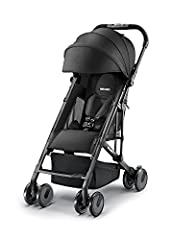 Compact folded size: 49 x 58 x 26 cm Weight: approx. 6 kg // Viewing panel made of mesh material Mesh material on the sides and on the backrest // Lockable front wheels Extendable sun canopy with UVP 50+ // Eight smooth-running wheels with full suspe...